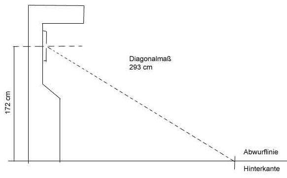 Dartpfeil Maximalgewicht